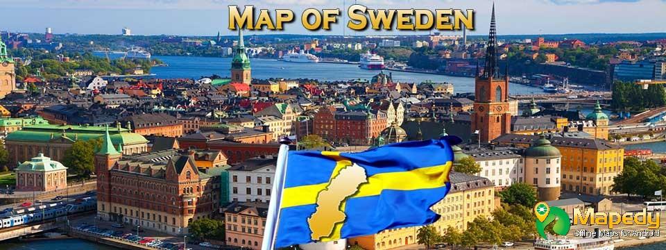 Scandinavia Railroad Map Norway Finland Sweden Denmark Hartă